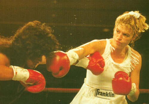 boxing action photo