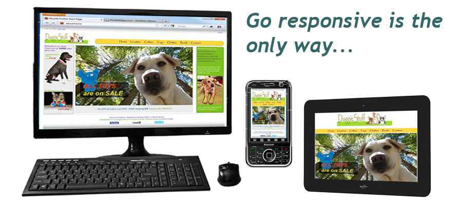 Go responsive with your website